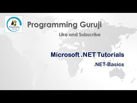 C# Tutorial - First Program And MSIL Code | Session 5 | MS.NET | Microsoft Dot Net