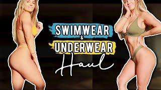 SUMMER SWIMWEAR & UNDERWEAR TRY-ON HAUL & FIRST IMPRESSIONS!!   LOUNGE