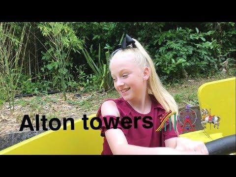 Surprise visit to Alton Towers ❤️ Splash Landings Hotel Room Tour