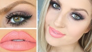 Girls Night Out GRWM! ♡ & Outfit | Sultry Eyes & Pink Lips!