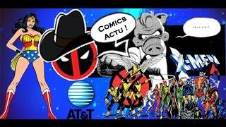 Comics Actu 23 - Marvel à la plage, censure et rachat de TIME WARNER !?