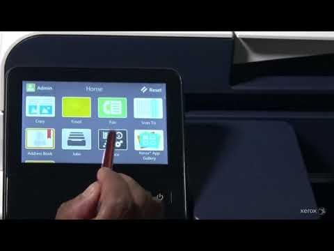 Xerox® VersaLink® Multifunction Device Setting the Primary Network