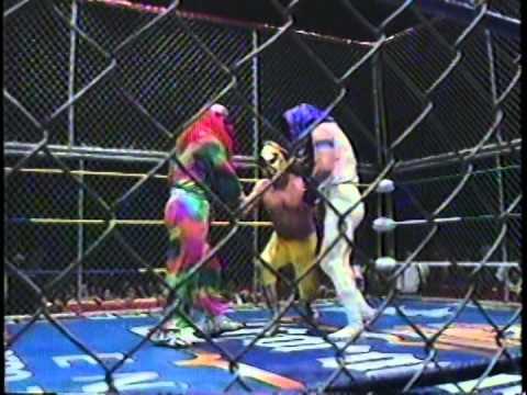 Triplemanía IV Juniors Atómicos vs Payasos y Karis la Momia