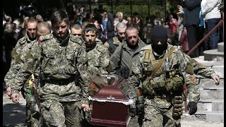 Бой в Семеновке  Реально снятое ополченцами ДНР