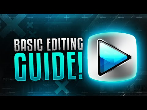 How to Edit YouTube Videos with Sony Vegas Pro 13/14! Basic Editing Guide for Beginners! (2016/2017)