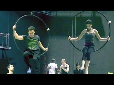 Dhoom:3 behind the scenes: Aamir Khan and Katrina Kaif turn acrobats