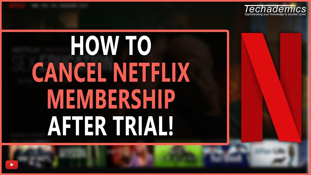 netflix trial account