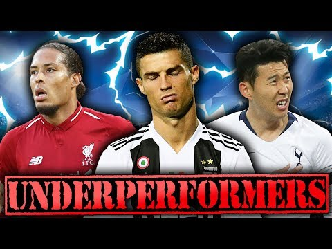 10 Players UNDERPERFORMING In The Champions League!