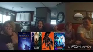 Family Reactions To Dumbo,Glass,The Predator,And How To Train Your Dragon 3 Official Trailers