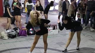 JHKTV]홍대댄스 레드 스파크 (러시아)hong dae k-pop dance red spark(russia) Something - GIRL'S DAY
