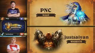 Match of the Day: PNC vs justsaiyan - Hearthstone Grandmasters Americas S2 2019 - Week 1