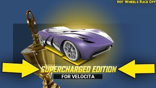 Unlocked New Supercharged VELOCITA Edition - HOT WHEELS RACE OFF | Daily Race Off by Hutch Games