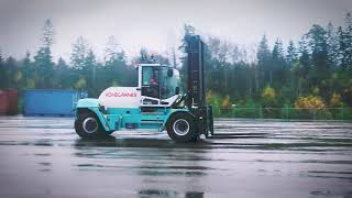 Konecranes most eco-efficient forklift E-VER
