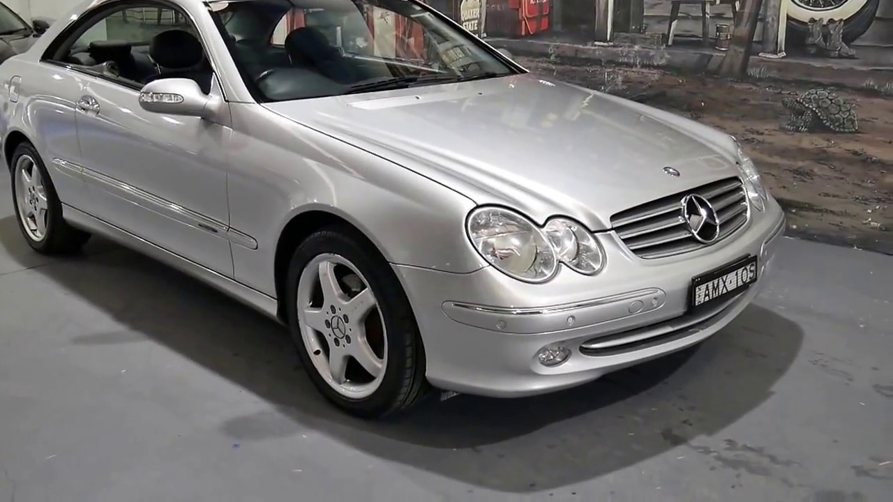 2002 mercedes benz clk320 elegance