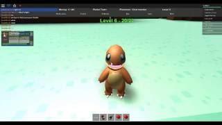 Charmander why are u Cute!!| Pokemon Adventures Episode 1| Roblox