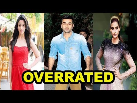 Top 5 Overrated Bollywood Celebrities 2018 [Bollywood Cafe]
