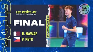 Petr vs Nawaf - Les Petits As 2019 - Highlights - Final