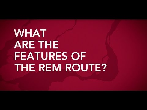 What are the features of the REM route?