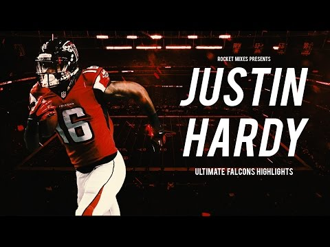 The Most Underrated WR in the NFL || Justin Hardy 2016 Falcons Highlights