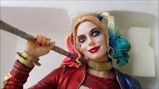 DC Collectibles Harley Quinn Statue Unboxing+Review/Распаковка и Обзор статуэтки Харли Квин