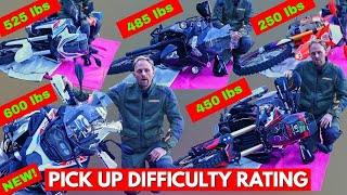 Фото Which Of These Popular Adventure Bikes Is Hardest To Pick Up? DROP TEST