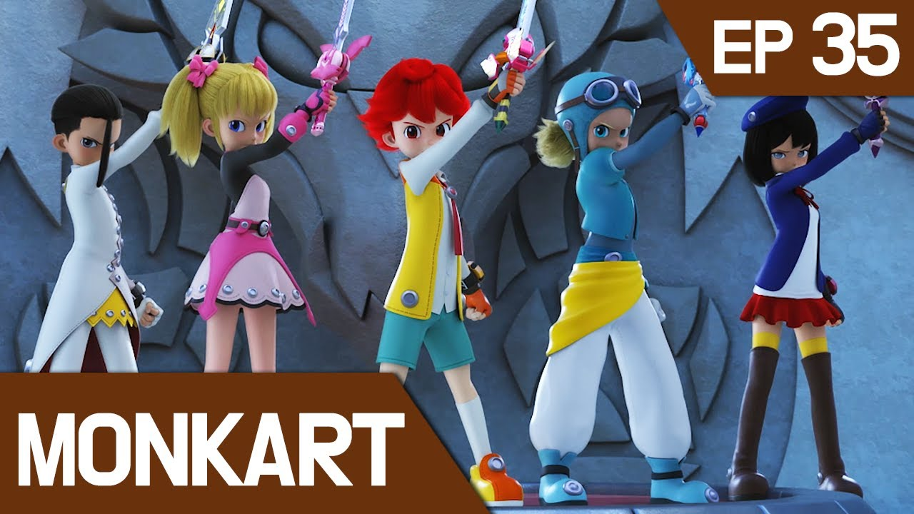 Download [KidsPang] MonKart Ep.35: End of the Rampage