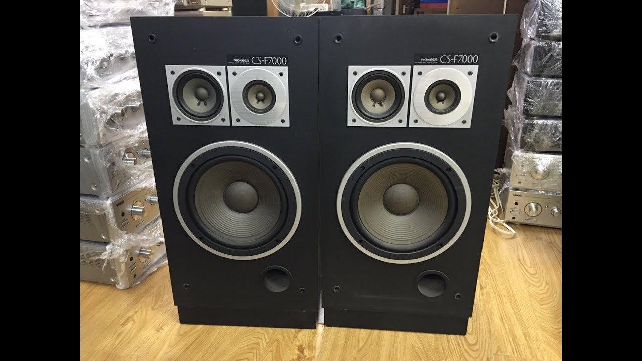1.GIỚI THIỆU LOA PIONEER F7000 Bass 25 Giá 10tr:0941.891.914 V3 Văn Phú Victoria