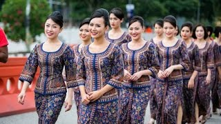 Singapore Airlines Cabin Crew B77W Business Class ???????? ???????