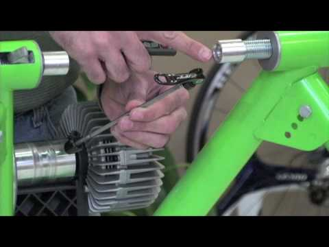 How to put your bike in a stationary trainer