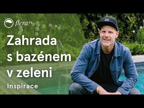Download Zahrada s bazénem v zeleni   Inspirativní zahrada   Flera TV