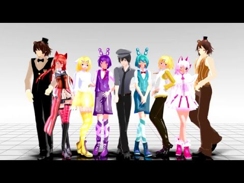【Five Nights At Freddy's - Monster】MMD