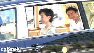 令和元年5月1日(水)晴れのち雨天皇皇后両陛下即位後朝見の儀など.