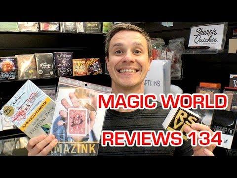 AMAZINK   RSVP BOX  WARP ONE FREEDOM PACK MAGIC TRICK REVIEWS