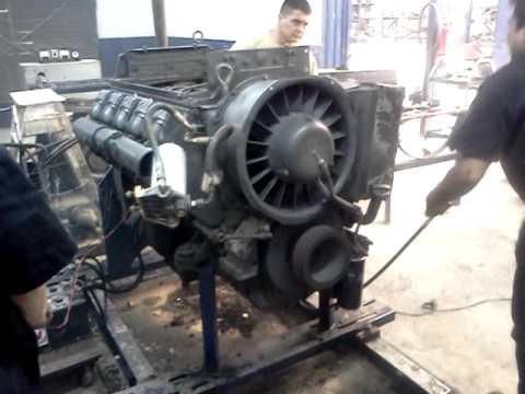 Motor Deutz F10l 413fw Primera Prueba Youtube