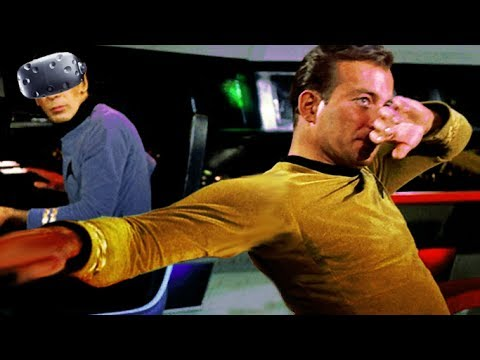 VR SPACE DABS - Star Trek Bridge Crew |