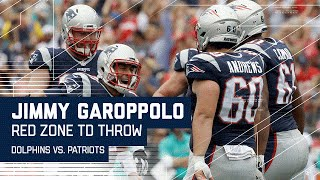 Jimmy Garoppolo Moves Ball Down the Field for Another TD! | Dolphins vs. Patriots |  NFL