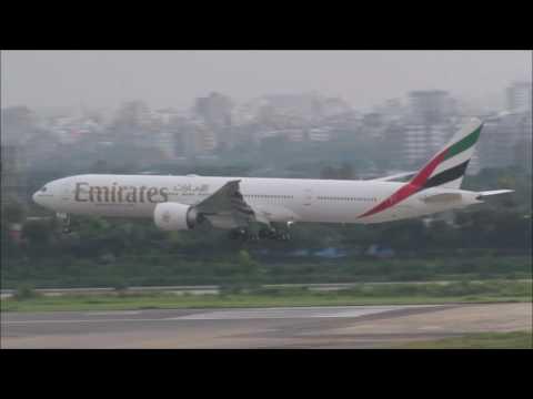 [HD] Plane Spotting @ Hazrat Shahjalal International Airport, Dhaka: Episode-69