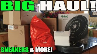 BIG HAUL! SNEAKERS & MORE (WORST MOTHERS DAY PRESENT EVER?)