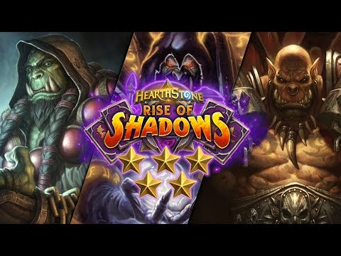 Trump's Rise of Shadows ⭐ Ratings: Shaman / Warlock / Warrior | Hearthstone