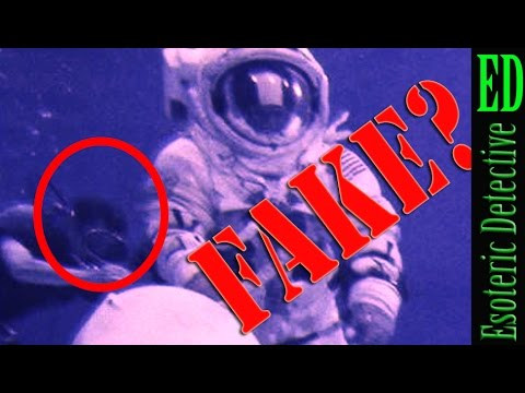 Possible WATER BUBBLES in NASA footage MIGHT PROVE NASA FILMED space walks in water tank ON EARTH
