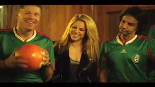 Shakira and Freshlyground World Cup The song Time for Africa