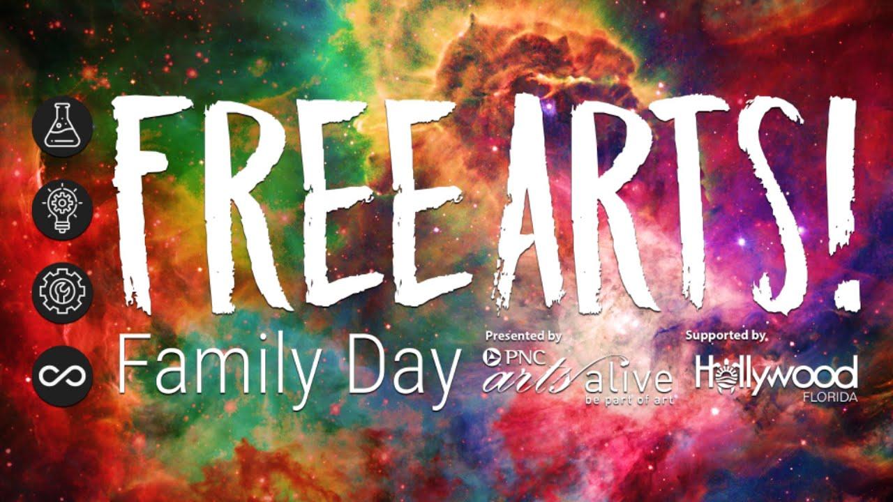 September Free Arts! Family Day Activity Video
