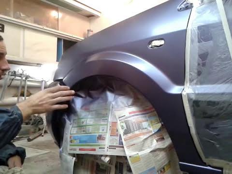 Как покрасить авто с переходом своими руками