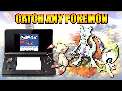 HOW TO CATCH ANY POKEMON IN GOLD AND SILVER 3DS