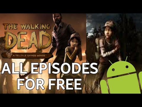 How to download all episodes on The Walking Dead Season 1 and 2 FOR FREE on android no root