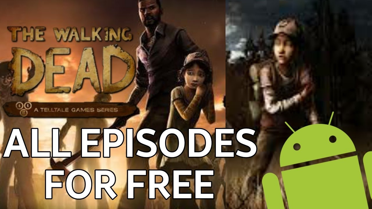 walking dead season 1 apk all episodes