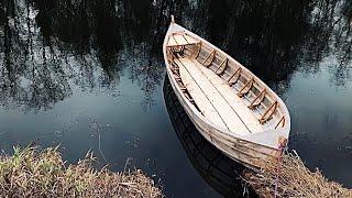 Как мне помог Адвокат Егоров. Лёгкая лодка, обтянутая стрейч плёнкой.