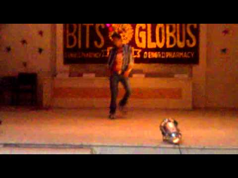 pawan globus,2010 freshers party dance