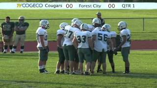 Chatham-Kent Cougars vs Forest City Thunderbirds OFC 2011 Part 1