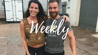 A WEEK OF WORKOUTS | CROSSFIT, GYM, BODYWEIGHT! AD